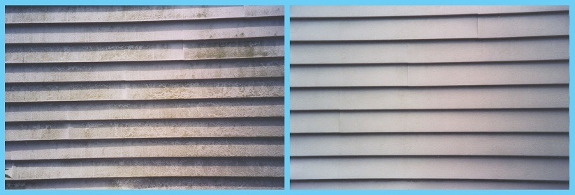 Siding Before and After