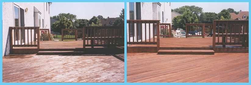 Deck Before & After