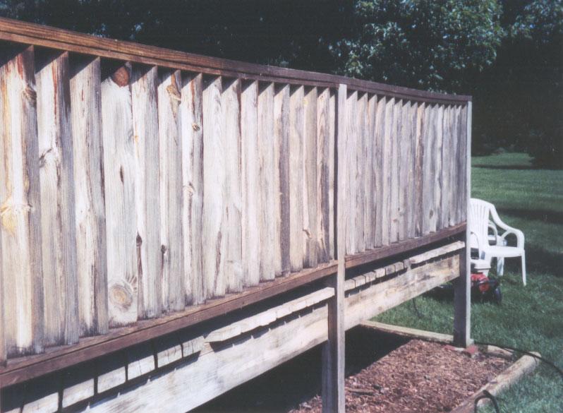 Deck Before Deckpro Powerwash Company