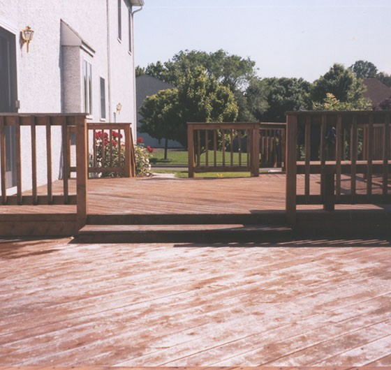 Deck Power Wash
