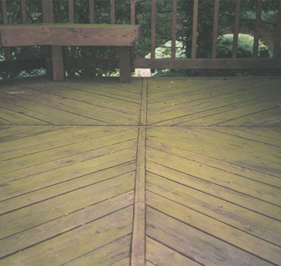 Deck Powerwash