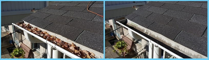 Gutters Before & After