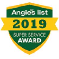 Angie's List 2019 Super Service Award Icon